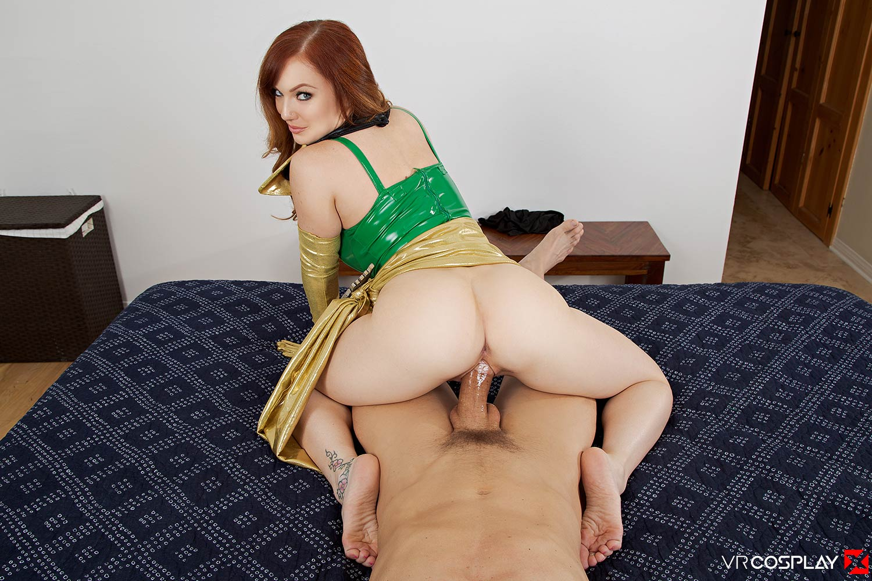 Chatte humide mangeant du porno